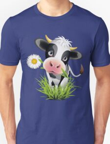 Cute cow with pretty eyes Unisex T-Shirt