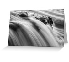 Middle of the River Greeting Card