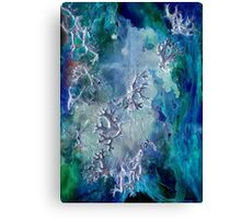 Lunar neuronal essence Canvas Print
