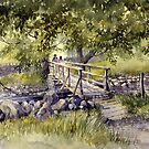 Bridge Near Scafell Pike, Lake District by artbyrachel