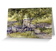 Bridge Near Scafell Pike, Lake District Greeting Card