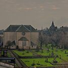 Canongate Kirkyard by Tom Gomez