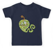 Green Worm Kids Tee