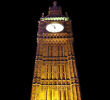 Big Ben – Paint & Poster Effect by NataliePaskell