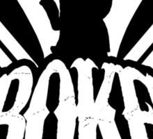 Screaming Eagle Broken Logo Sticker