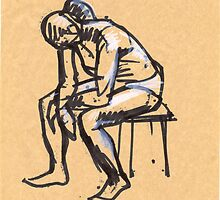 sitting woman2 by natoly