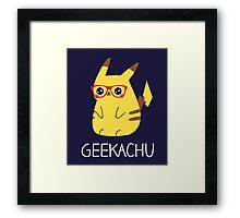 Geekachu Framed Print