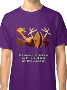 Monkey Island - Rubber chicken with a pulley in the middle Classic T-Shirt