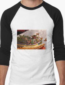 Thean Hou Temple Men's Baseball ¾ T-Shirt