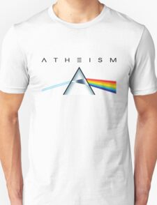 ATHEISM - A prism for seeing the light (Light backgrounds) T-Shirt