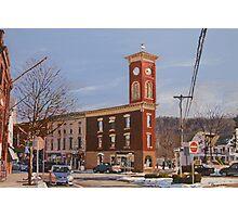 Chatham Clock Tower Photographic Print