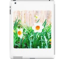 Painted Daffodils iPad Case/Skin