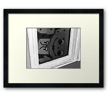 Gangsta Lean Framed Print