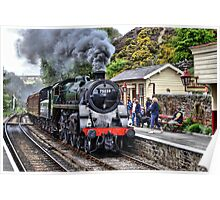 Steaming into Goathland Poster