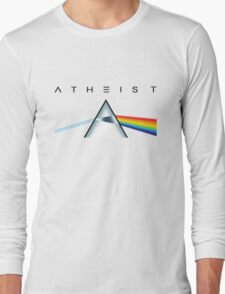 ATHEIST - A prism for seeing the light (Light backgrounds) Long Sleeve T-Shirt