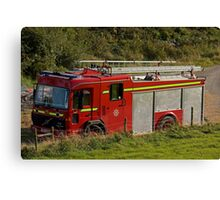 Fire and Rescue Canvas Print