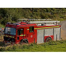 Fire and Rescue Photographic Print