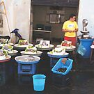 Fishmarket in Naples by Christine  Wilson