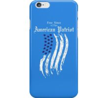 Free Since 1776 – American Patriot iPhone Case/Skin