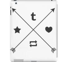 social icons iPad Case/Skin