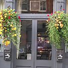 Pub & Flowers by Christine Wilson