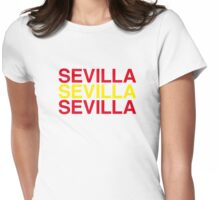 SEVILLA Womens Fitted T-Shirt