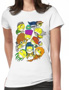 All Smiles Womens Fitted T-Shirt