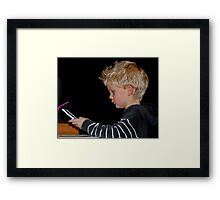 I am the eldest! Framed Print