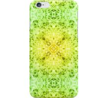 """""""Spirit of India: Fleur-Web"""" in grass green and yellow iPhone Case/Skin"""