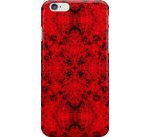 """Spirit of India: Cross-Fleur"" in deep red iPhone Case/Skin"