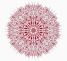 """Spirit of India: Fleur-SnowFlake"" in rose T-Shirt"