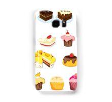 Yummy cakes Samsung Galaxy Case/Skin