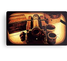 Balls and Cannon Metal Print