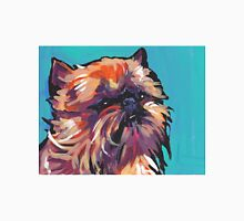 Brussels griffon Bright colorful pop dog art Unisex T-Shirt