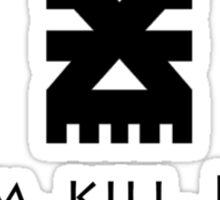 MAIM KILL BURN Sticker
