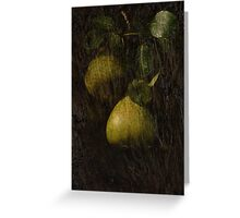 Perfect Pears Greeting Card