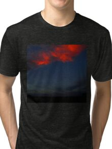 The Clouds Are Falling Tri-blend T-Shirt