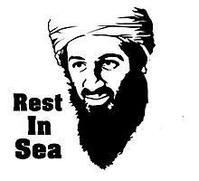 R.I.S. Bin Laden Photographic Print