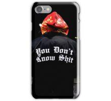 shit iPhone Case/Skin