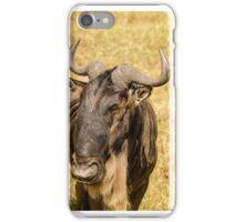 Black Wildebeest iPhone Case/Skin