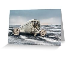 Douglas Super DC3 Greeting Card
