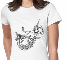 Thai Mermaid Womens Fitted T-Shirt