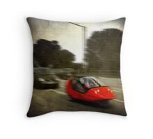"""Leading the way:  """"Baby you can drive my car!"""" Throw Pillow"""