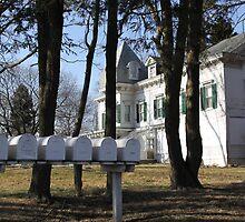Mansion Mailboxes by eelsblueEllen