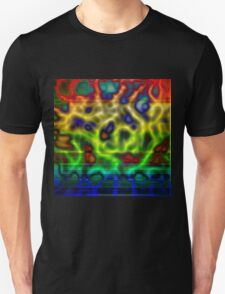 Rainbow Plasma Unisex T-Shirt
