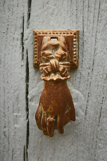 Knock, knock... by Jeanne Horak-Druiff