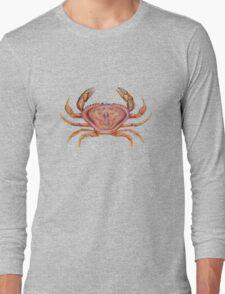 Dungeness Crab (Metacarcinus magister) Long Sleeve T-Shirt