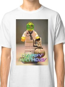 Doctor Toxic with Chainsaw, Custom Minifigure Classic T-Shirt