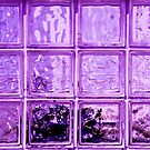 Purple window. by Dave Hare