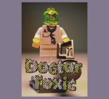 Doctor Toxic with Chainsaw, Custom Minifigure Kids Clothes